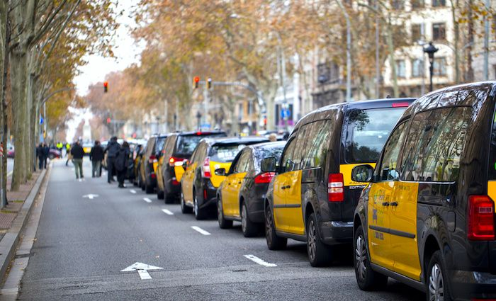 Taxi Barcelona Getting to Sagrada Familia