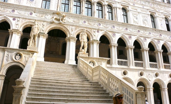 Top attractions in Venice Giants Staircase