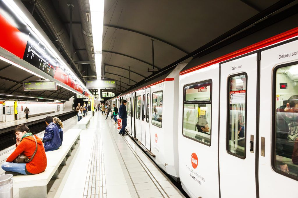 Barcelona subway metro airport getting around