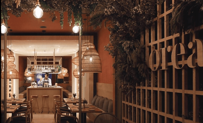 Top Restaurant near Passeig Gracia Orea Barcelona