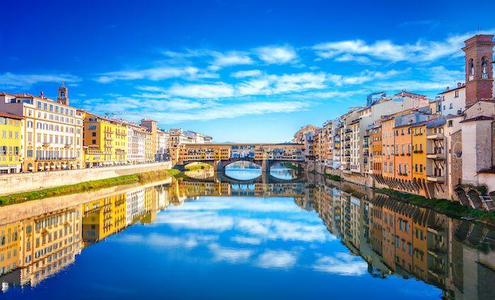 Ponte Vecchio Santa Maria Novella Neighborhood FLorence where to stay