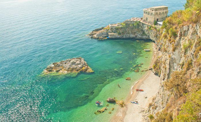 Spiaggia di Cauco, Erichie Amalfi Coast Top Attractions