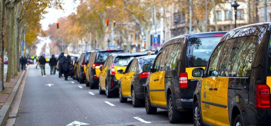 Taxi Driver Uber Barcelona