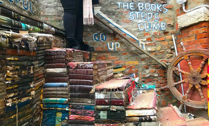 Top Attractions in Venice Libreria di Acqua Alta