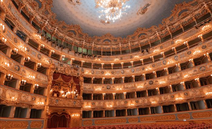 Top Attractions in Venice Teatro La Fenice