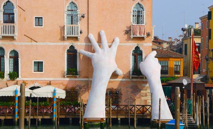 Top Venice Attractions Art Hands Canal