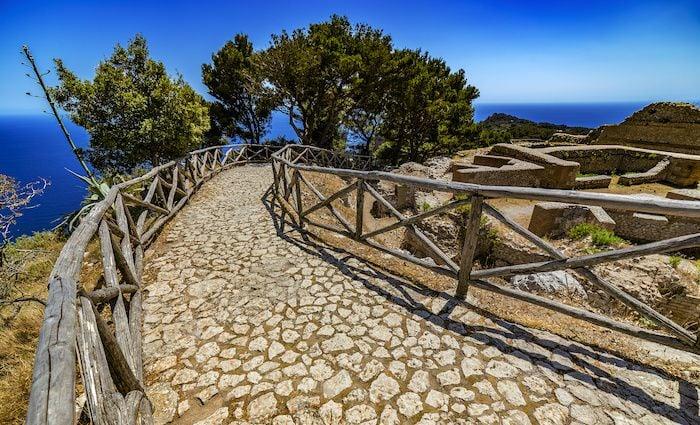 Villa Jovis, Capri Island Tiberius Leap top attractions amalfi Coast