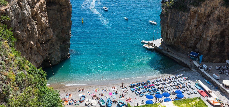 Top 15 Beaches Along the Amalfi  Coast