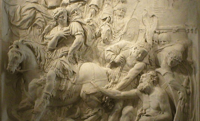 Alexander and Diogenes Louvre