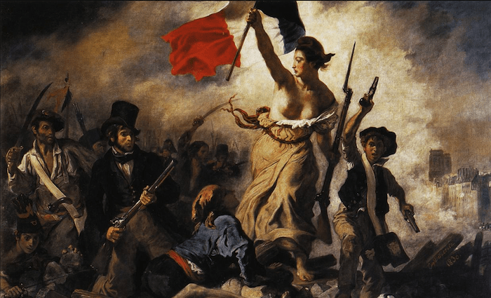 Liberty Leading the People Delacroix Louvre 700 x 425