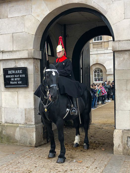 The changing of the Guard. Horse Guard's Parade