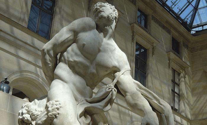 Milo of Croton Louvre