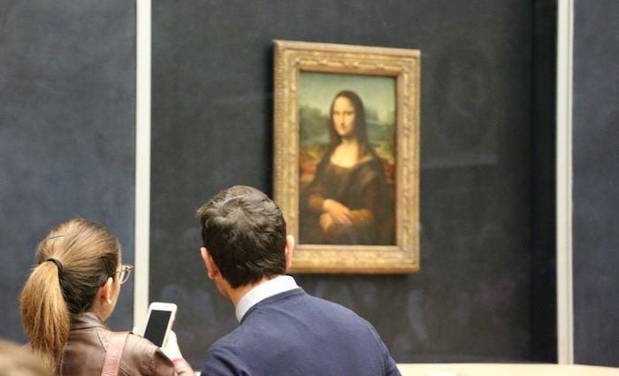 Mona Lisa Paris Louvre La Gioconda  Leonardo da Vinci