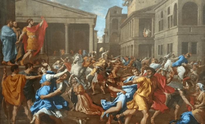 Nicolas Poussin Rape of Sabine Women