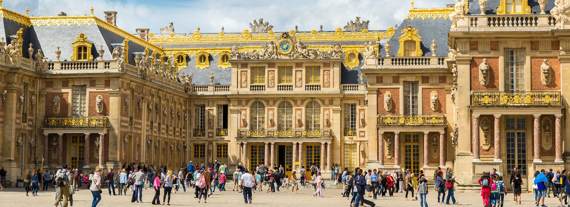 Palace & Gardens of Versailles Page