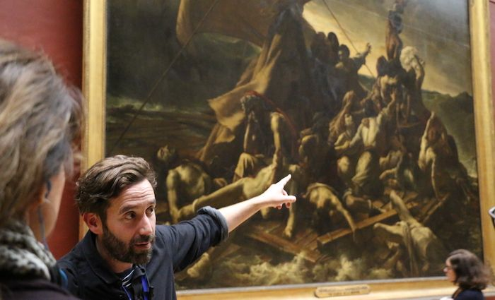 Paris Louvre Tour Guide Raft of Medusa Lg Great 700 x 425