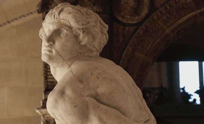 Slaves Michelangelo Louvre