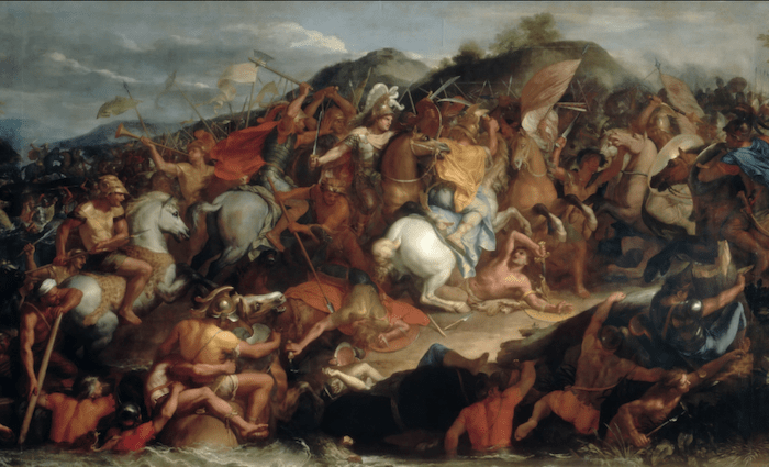 The Battles of the Granicus River Charles Le Brun