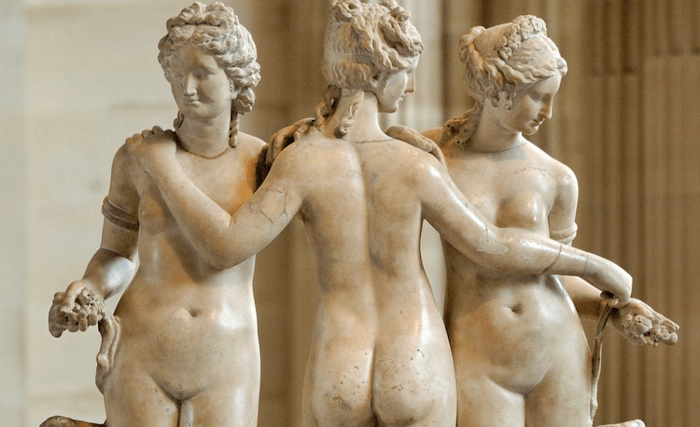 Thee Three Graces Louvre