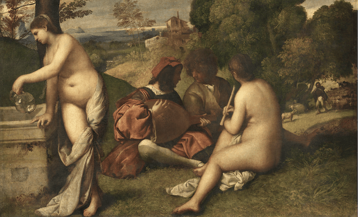 Titian Pastoral Concert Wikimedia Commons 700 x 425