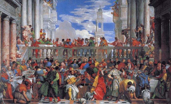 Wedding Feast at Cana Veronese 700 x 425