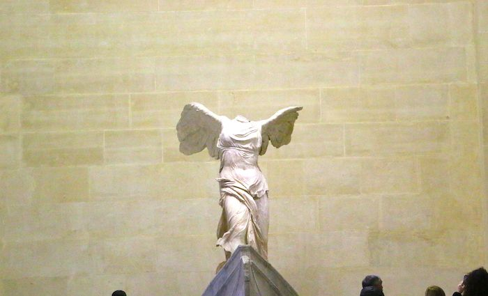 winged Victory of Samothrace 700 x 425