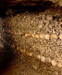6 Things to See in the Paris catacombs