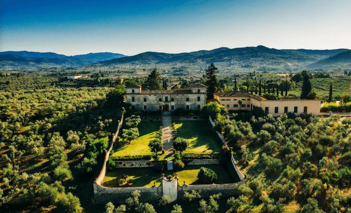 Medici Villa di Lilliano Tuscany Accommodation