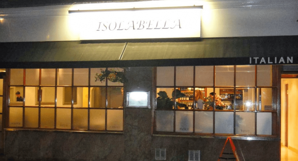Isolabella restaurant best restaurants near British museum in russel square