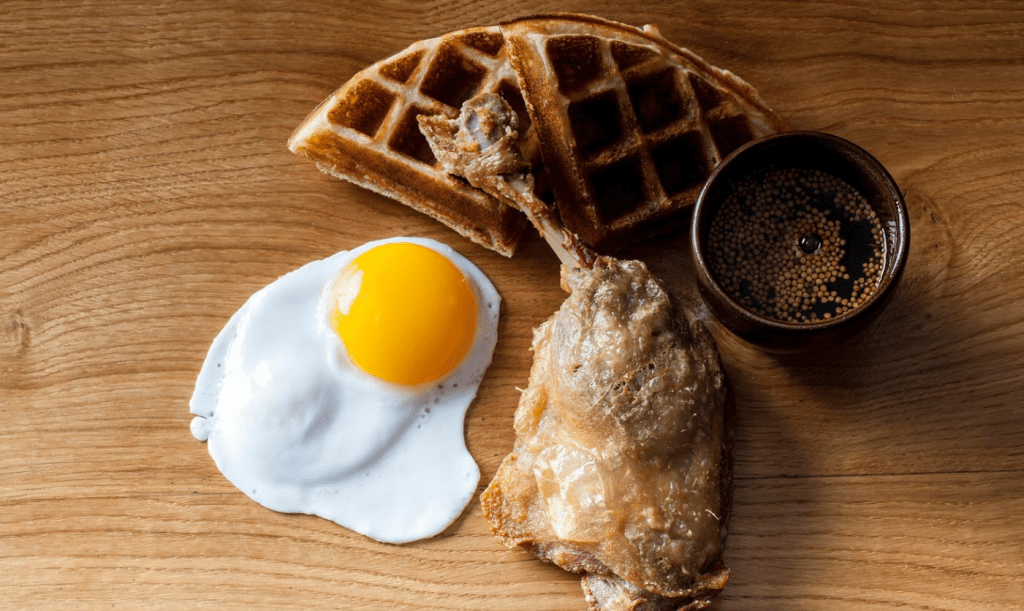 The Duck and Waffle near the Tower of london