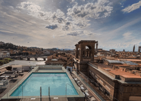 BEST HOTELS in Florence in 2021 with POOLS!