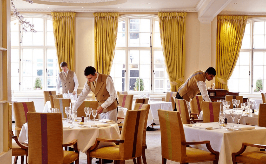 restaurants near buckingham palace