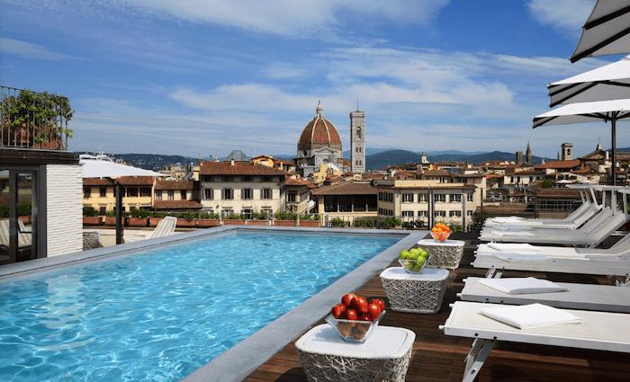 Grand Hotel Minerva Florence Pool
