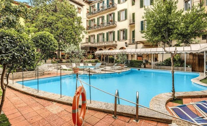 Hotel Croce di Malto Pools