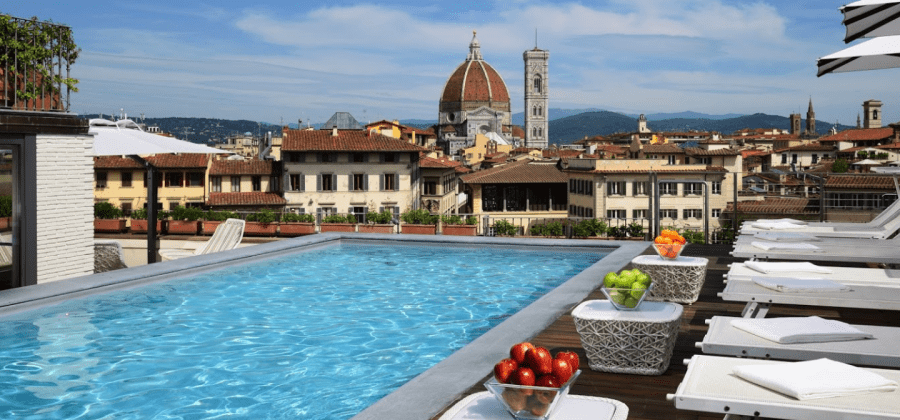 Hotels with Rooftop Bars & restaurants in 2021 florence 1440 x 675