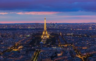 Eiffel Tower category tile