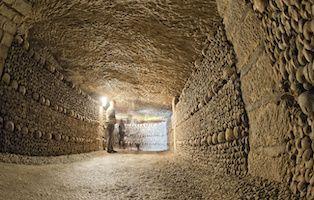 Paris Catacombs Category Tile