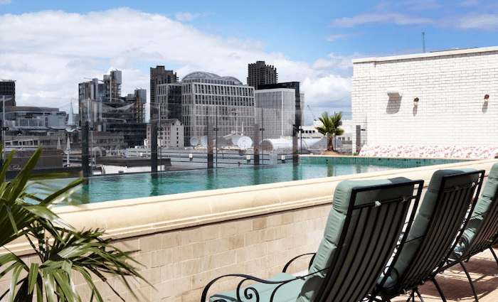 The Ned London Rooftop Pool