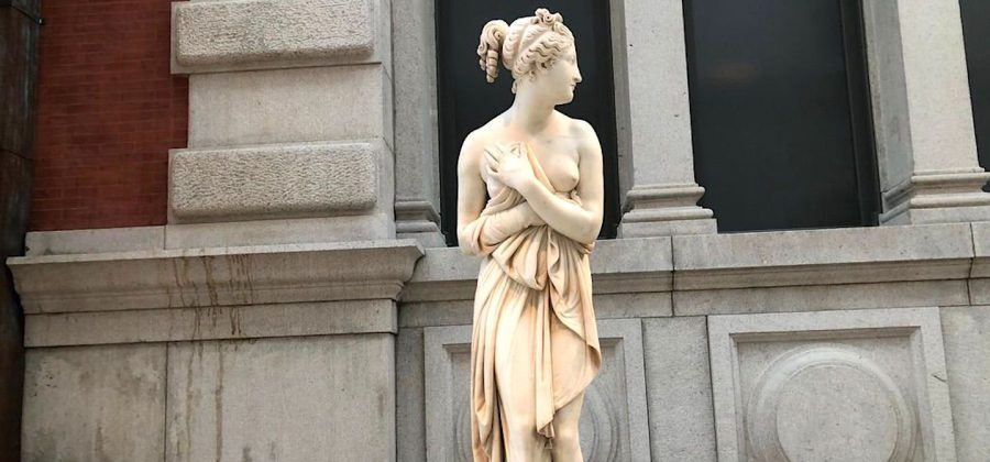 Venus Italica by Antonio Canova at the MET