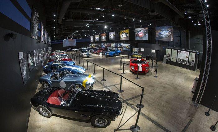 Shelby American Showroom Best Museums Las Vegas