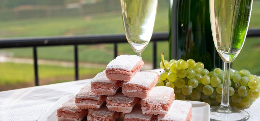 Top things to do in Reims Pink Biscuit Champagne Vineyard